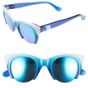 WESTWARD LEANING LOST ON PARADISE SUNGLASSES blue